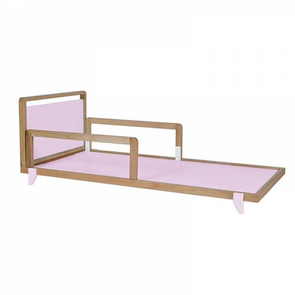 MINI CAMA NÓRDICA ROSA
